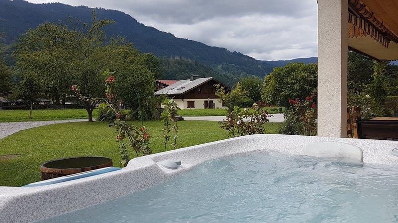 Chalet Mugnier Samoens. Grand appartement luxe 6 personnes, 3 chambres., location de vacances à Samoëns