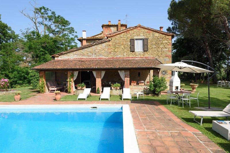 Villa Nava, location de vacances à San Giustino Valdarno