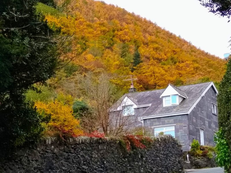 Old Rectory Cottage in Autumn