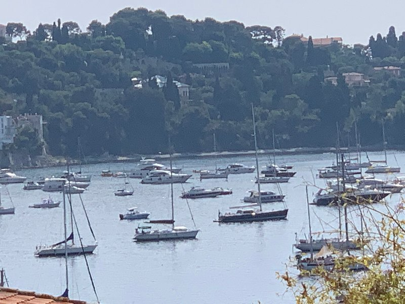 L'oranger - apt w/gdn, sea view, in Old Town, vacation rental in Villefranche-sur-Mer