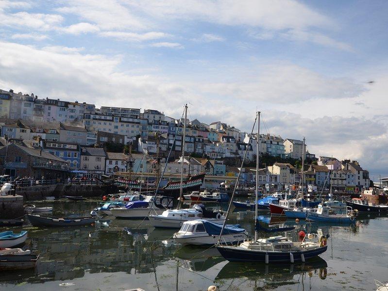 Take a walk around Brixham Harbour