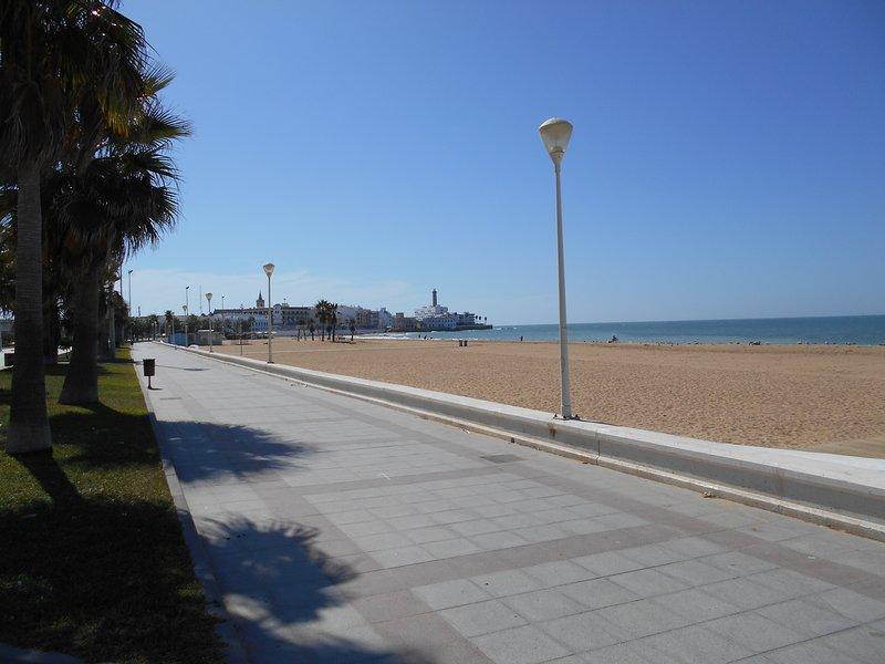 Beach of La Cruz del Mar.