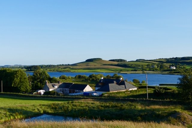 Set in the stunning surroundings, with views over Loch Ken