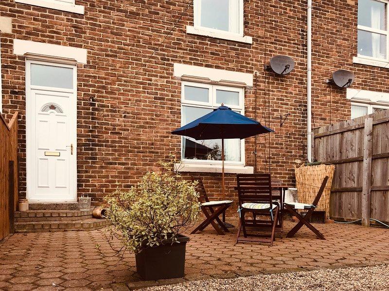 Cosy house sleeps 5 near Beamish, Newcastle & Durham, alquiler de vacaciones en Beamish