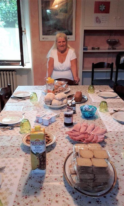 Desayuno de marisa