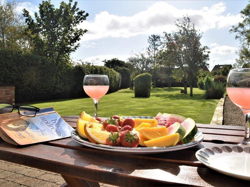 Geniet van een middag in de tuin