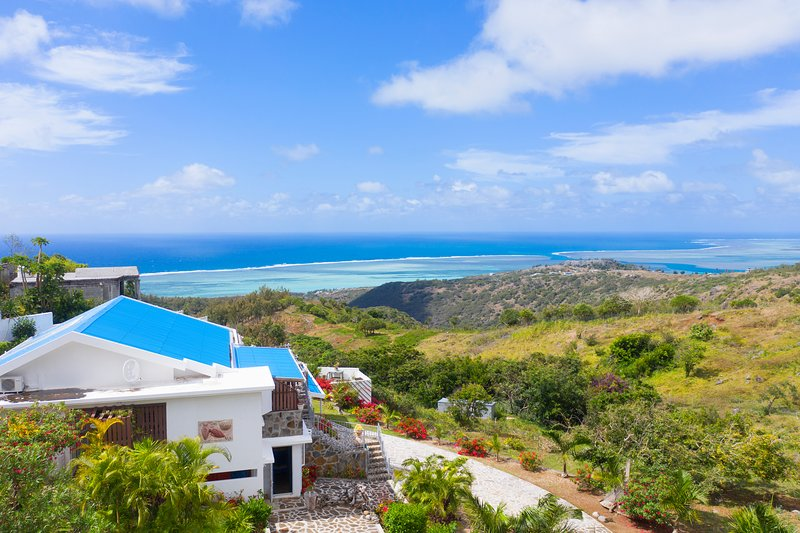 Villa Mon Calme, Rodrigues, new with private pool, alquiler de vacaciones en Isla Rodrigues
