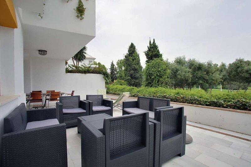 Blue House by KEYWii., holiday rental in San Pedro de Alcantara