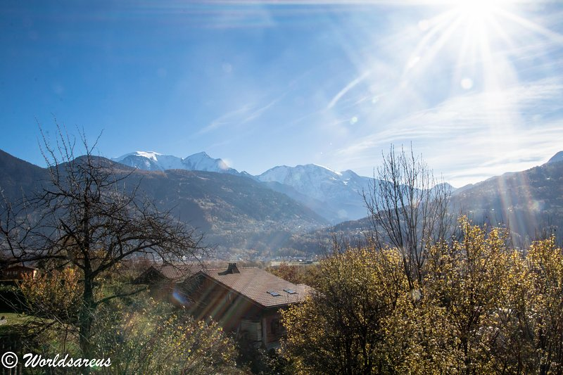 Chalet Mont Blanc, holiday rental in Passy