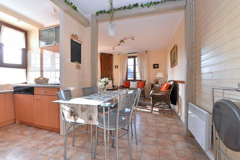 Nice apartment with garden & Wifi, aluguéis de temporada em Epfig
