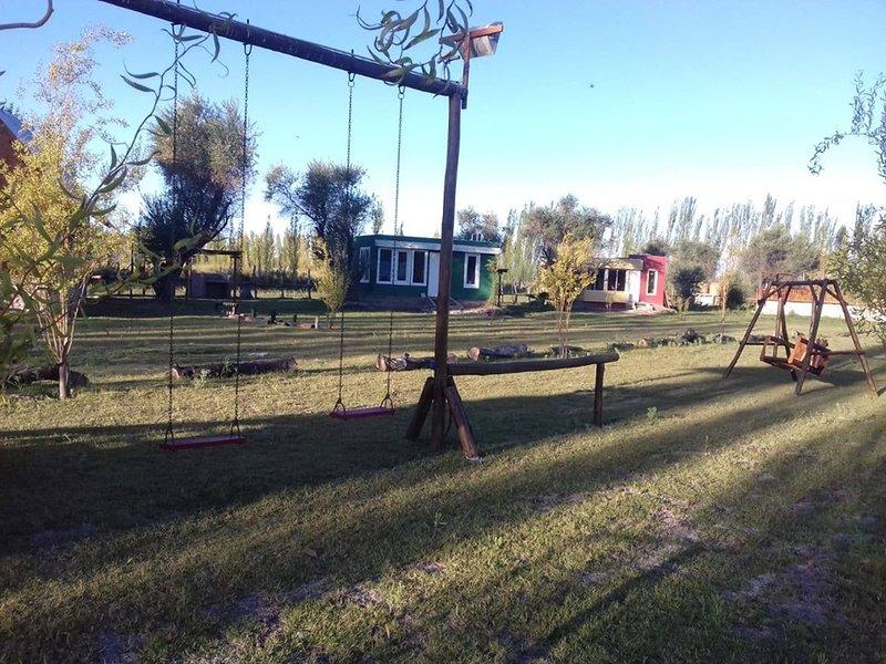 cabañas Nuestro rancho, alquiler vacacional en San Martín