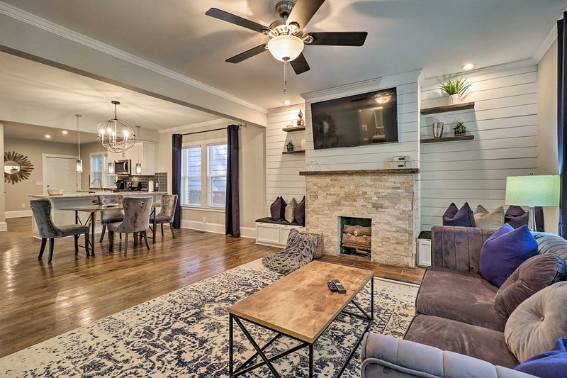 Chic Home in Historic Area: Half Mile to BeltLine!, holiday rental in Fort McPherson