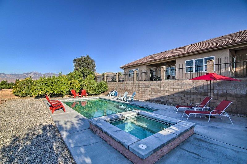 House w/ Mountain Views - 13 Mi to DT Palm Springs, alquiler de vacaciones en Morongo Valley