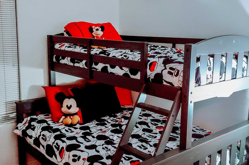 The kids will love hanging out with Mickey in this charming room!