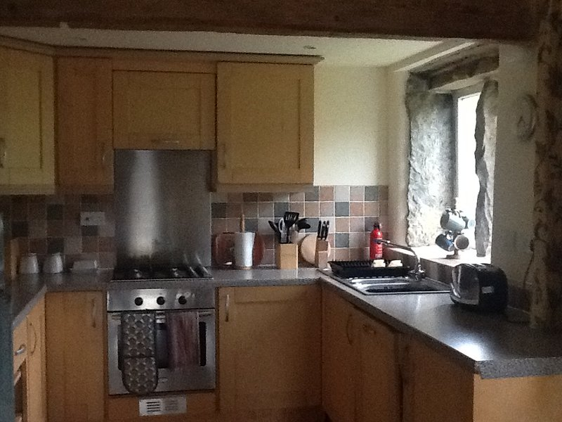 Millstone apartment at Mill Barn, holiday rental in Mossley
