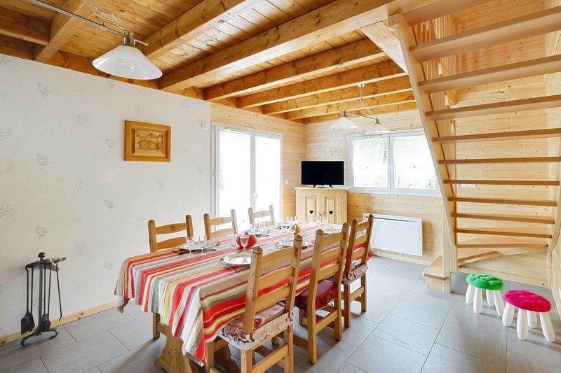 La Scierie - Chalet 3* pour 8P, holiday rental in Liezey
