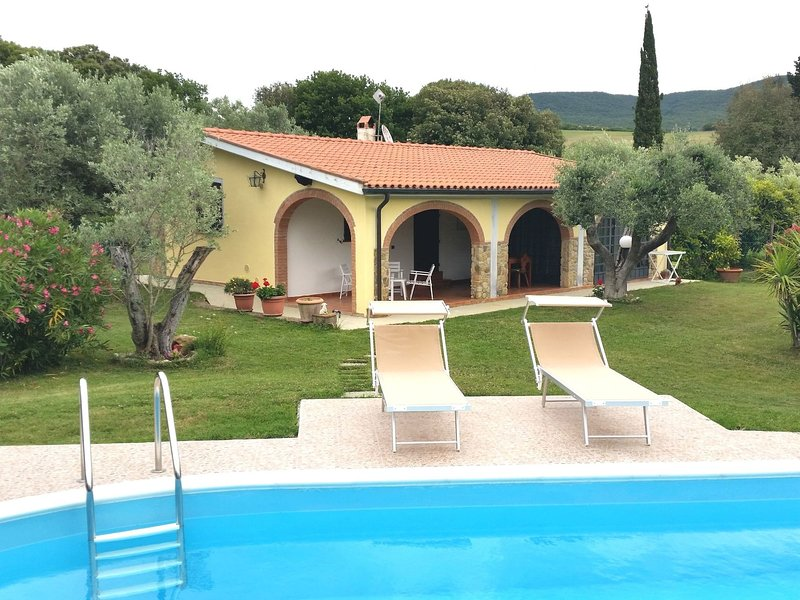 Villa Le Vigne, vacation rental in Bibbona