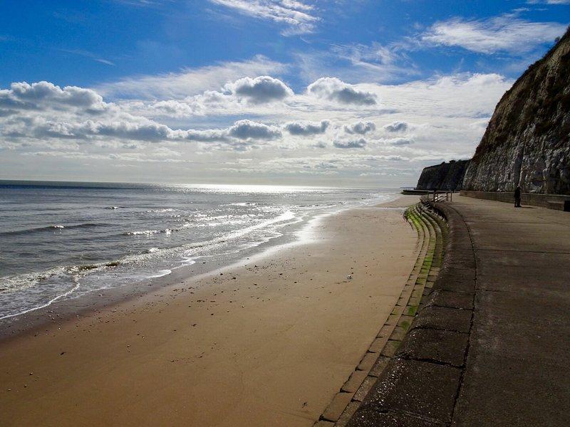 Promenade côtière vers Dumpton Gap
