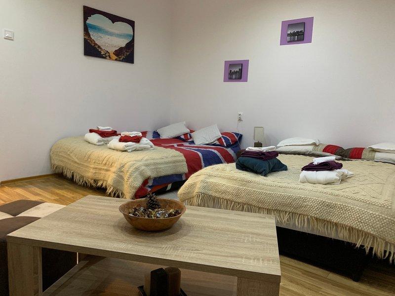 Riverside Apartment Transylvania, alquiler de vacaciones en Harghita County