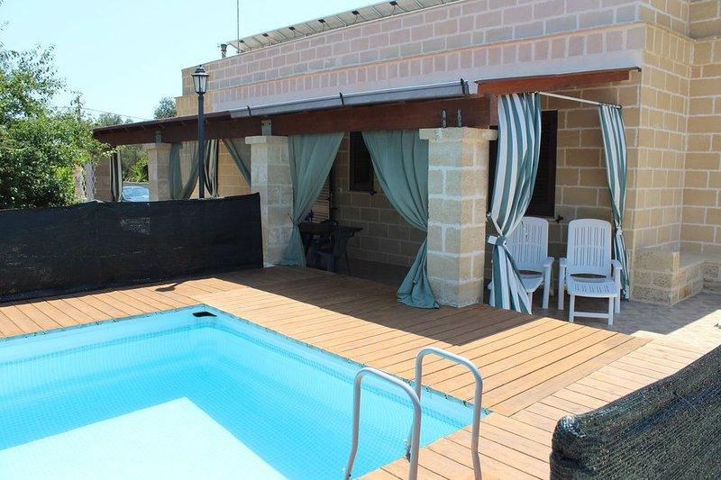 Villetta Balia con piscina, vacation rental in Montesardo