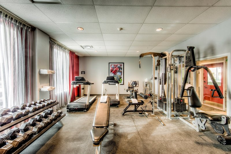 Keep up your fitness routine at the gym