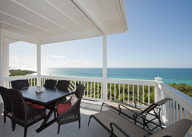 AS SEEN ON HGTV!  Pent. Condo w/2-Ocean View, Beach, Pool, Dock, Golf Cart, holiday rental in Eleuthera