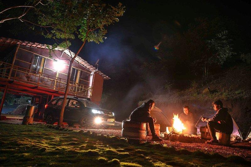 Fuego de campamento
