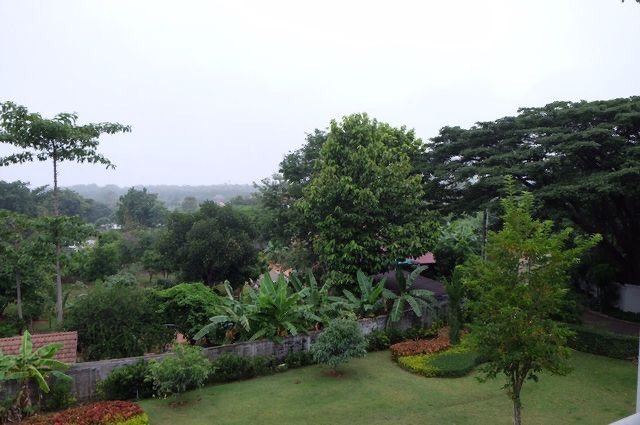A view from terrace on second floor
