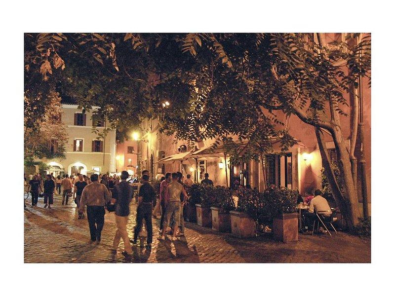 Antigo centro de Roma, charmoso, a uma curta caminhada de todos os pontos principais.