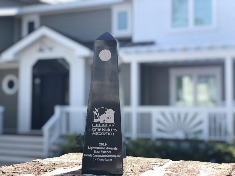 Winner of the 2019 Lighthouse Award- Best Exterior