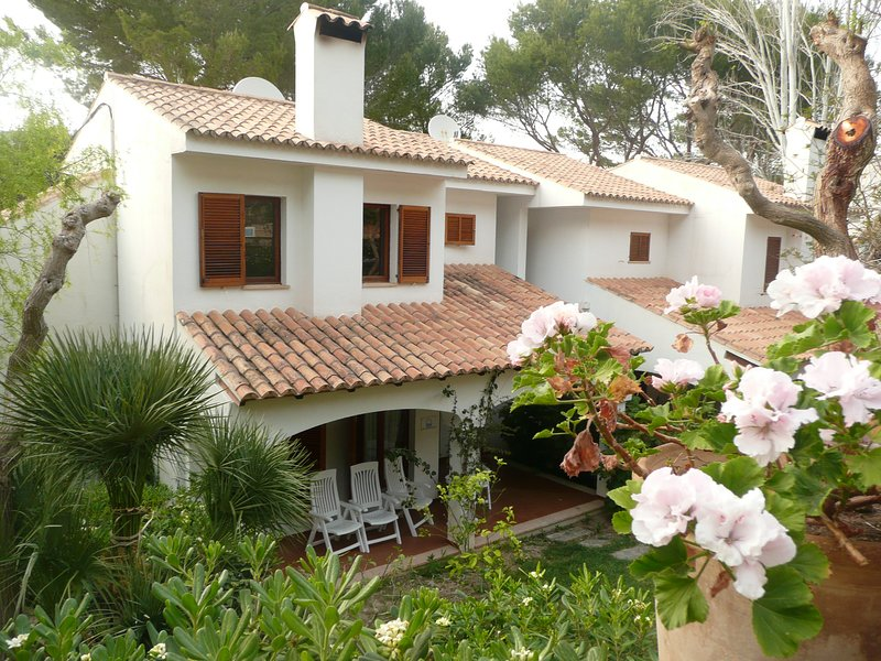 Spacious modern family villa with air con, smart tv, WiFi and large pool