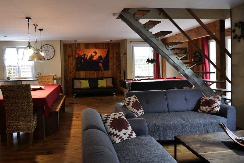 Chalet Clairlune avec Sauna, Spa-nordique, Billard (Massif des Vosges), holiday rental in Husseren-Wesserling