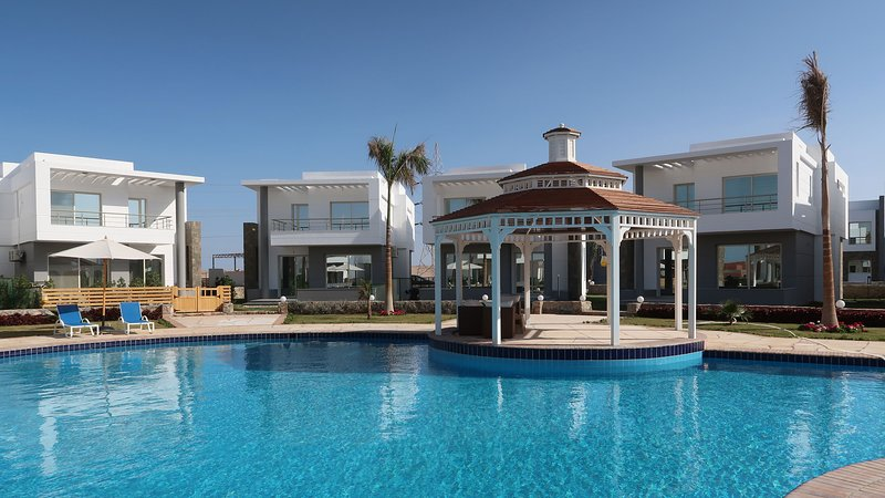 Sky Star Villa 25: Traumurlaub über den Dächern von Hurghada, holiday rental in Makadi Bay