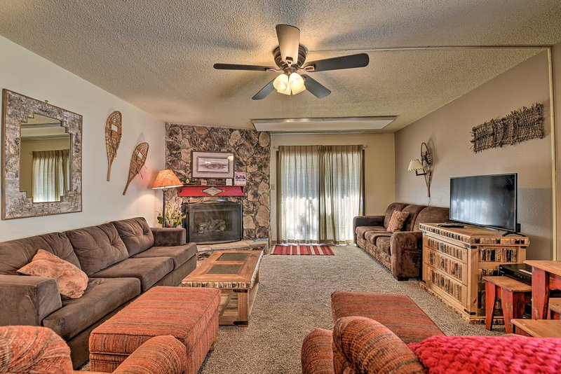 Come visit this 2-bedroom, 2-bathroom condo in Angle Fire!
