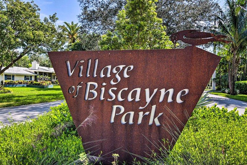 Planeje sua próxima escapada para este retiro em Biscayne Park!