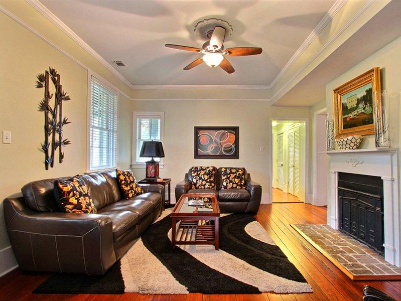 Forsyth Park West Garden Level, alquiler de vacaciones en Savannah