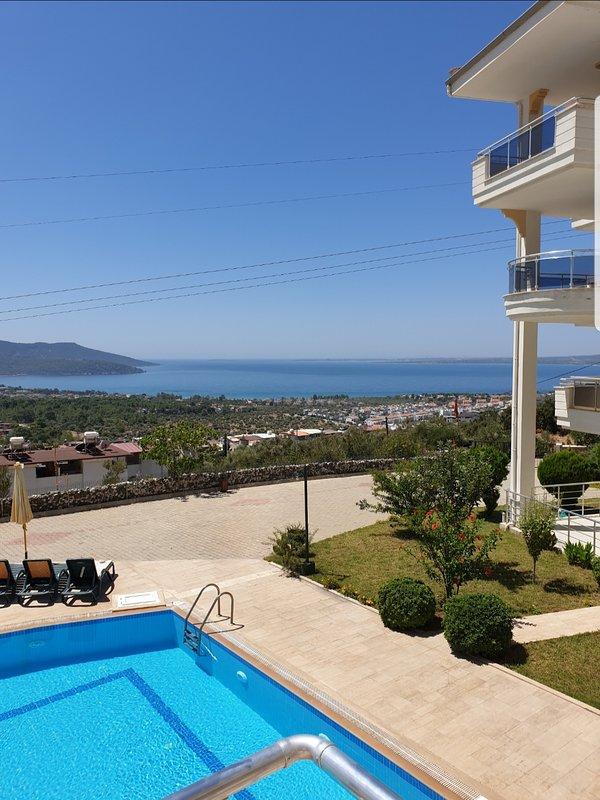 Stunning views over the bay of Akbuk