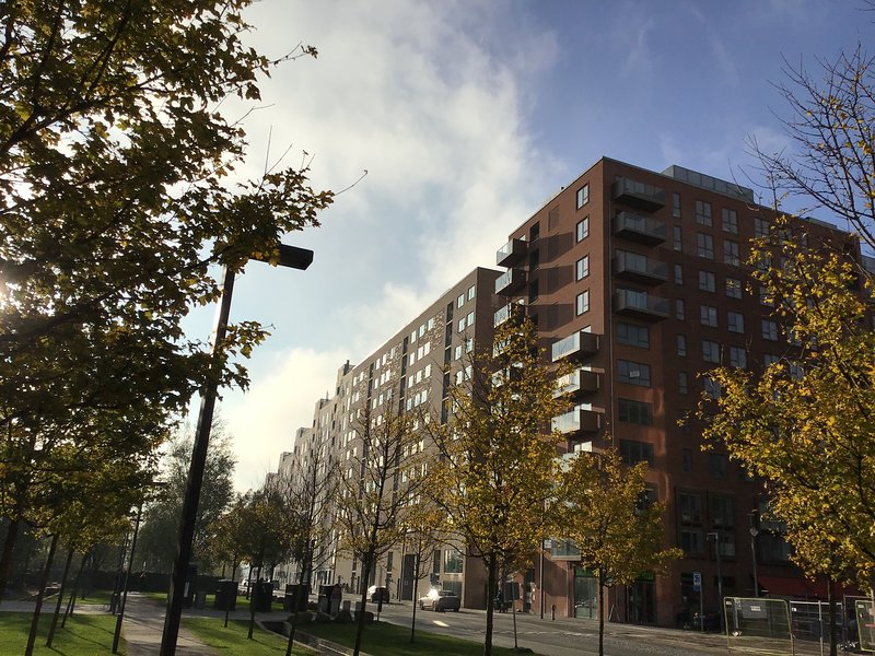 Modern One-bedroom Apartment with a Balcony in Copenhagen Orestad, holiday rental in Koege Municipality