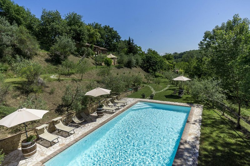 Nice apartment with shared pool, holiday rental in Abbadia di Montepulciano