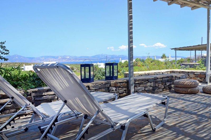 Villa Daphne  · Gorgeous Villa - an oasis for 8 people, aluguéis de temporada em Naoussa