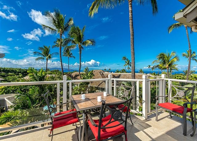 Grand Champions #48: Stunning 180 Degree Ocean Views. Top Floor Paradise Home, holiday rental in Maui