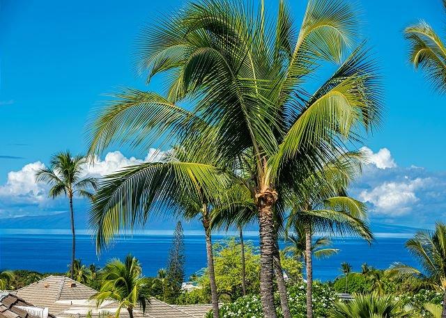 Grand Champions #48: Stunning 180 Degree Ocean Views. Top Floor Paradise Home, aluguéis de temporada em Wailea