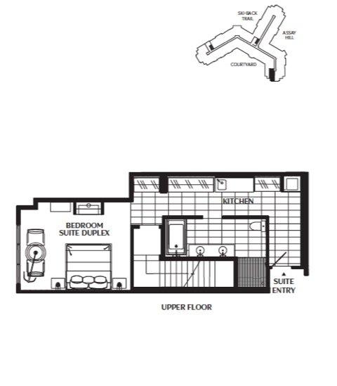 831 Floor Plan (Second Level)