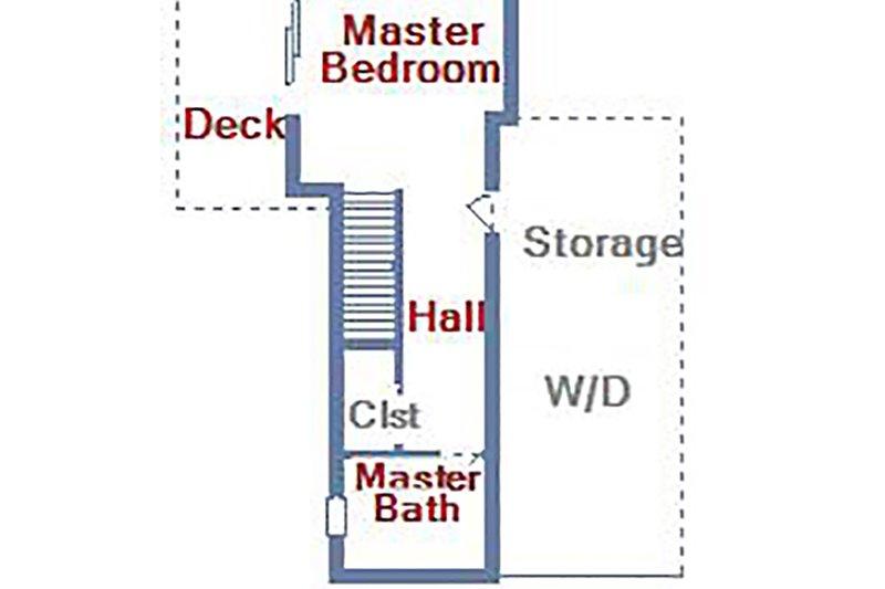 Plan d'étage - En bas