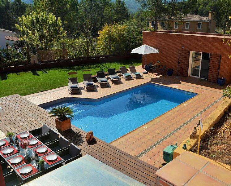 Villa Sitges Maria, location de vacances à Sant Pere Molanta