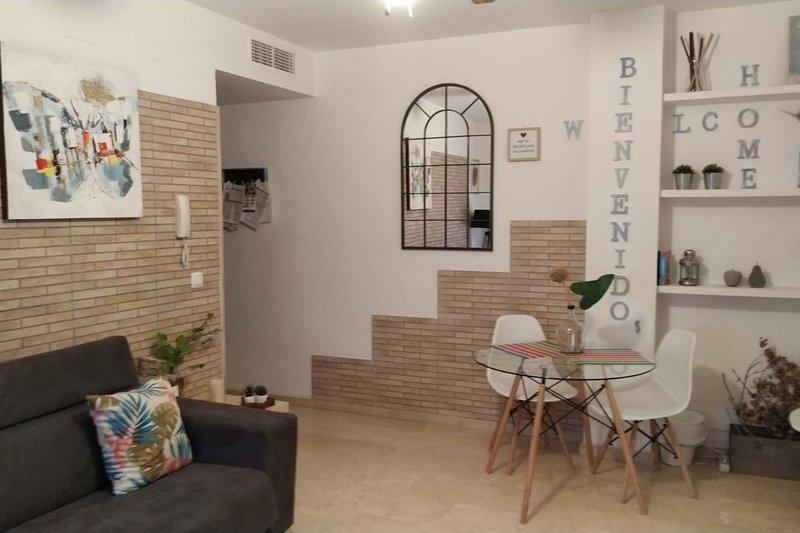 Beautiful apt with garden & Wifi, vacation rental in Meriga