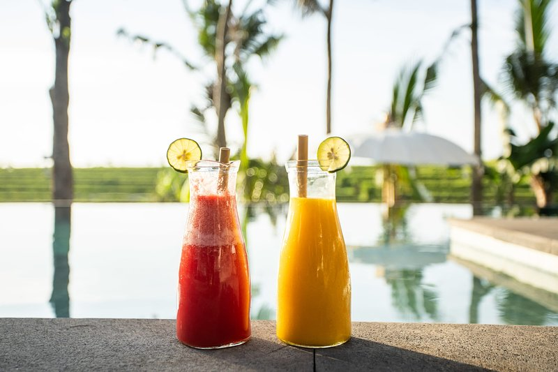 färska hemlagade juice
