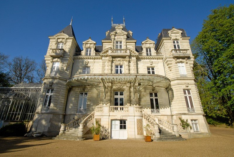 Château à Saumur, holiday rental in Deneze-sous-Doue
