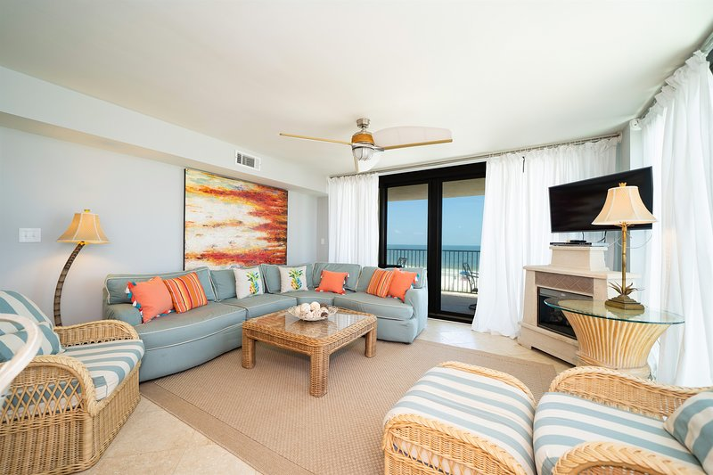 Wind Drift 212SW! Spectacular beachfront Views, alquiler de vacaciones en Orange Beach