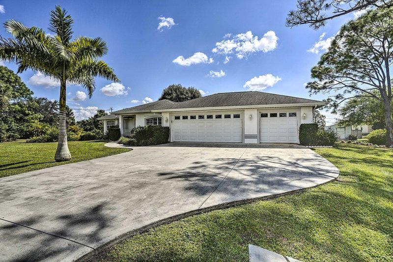 Questa casa di Fort Myers ti invita in una vacanza onnicomprensiva!